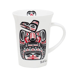 Bill Reid Children of the Raven Porcelain Mug