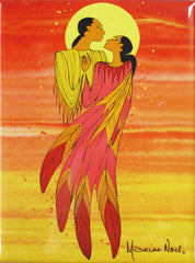Maxine Noel 'The Embrace' Magnet