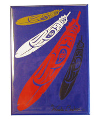 'Eagle Feather' Magnet - Oscardo