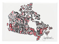 'Our Home and Native Land' Magnet - Oscardo