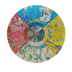 Alex Janvier Morning Star Metallic Magnet