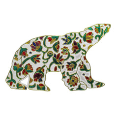 Dawn Oman Spring Bear Metallic Magnet