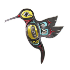 Hummingbird Metallic Magnet