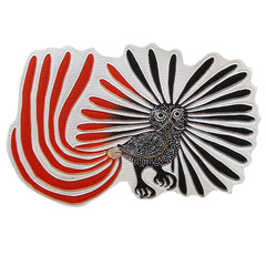 Kenojuak Ashevak Enchanted Owl Metallic Magnet