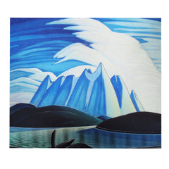 Lawren Harris Lake and Mountain Metallic Magnet
