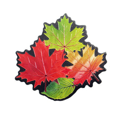 Fall Leaves Metallic Magnet