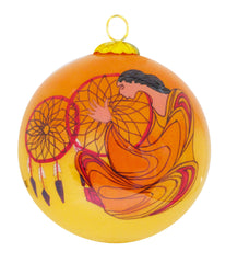 Maxine Noel Dreamcatcher Glass Ornament