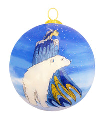Maxine Noel 'Mother Winter' Glass Ornament