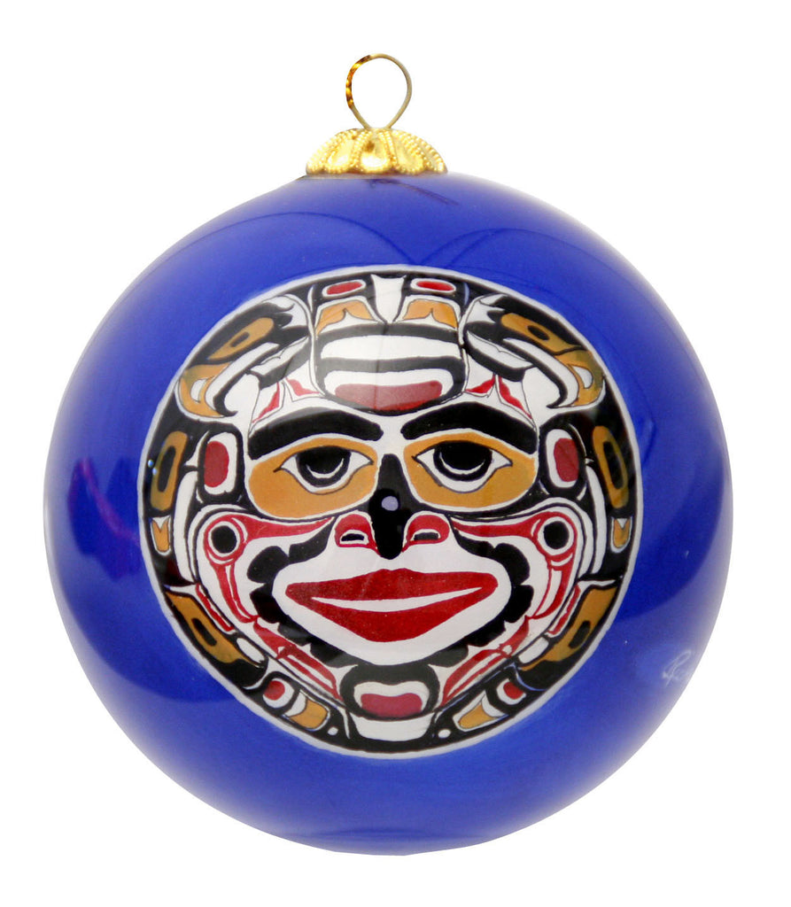 'Kwaguilth Moon' Glass Ornament - Oscardo