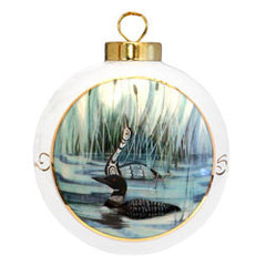 'Loon' Porcelain Ornament - Oscardo