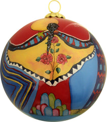 'Embracing Brother Sun' Glass Ornament - Oscardo