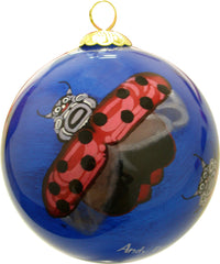 'Ladies Can't Wait' Glass Ornament - Oscardo
