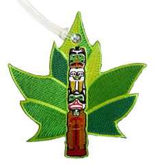 Totem Embroidered Luggage Tag
