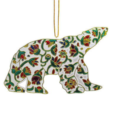 Dawn Oman Spring Bear Metallic Ornament - Oscardo