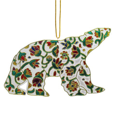 Dawn Oman Spring Bear Metallic Ornament