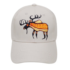 Norval Morrisseau Moose Harmony Embroidered Baseball Cap