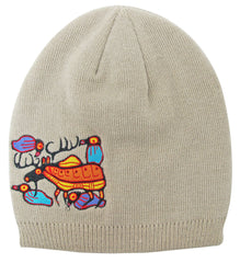 Norval Morrisseau Moose Harmony Embroidered Knitted Hat