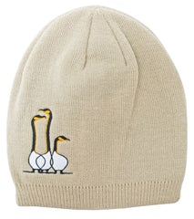 Benjamin Chee Chee Friends Embroidered Knitted Hat