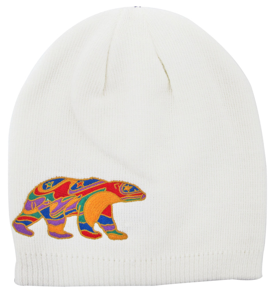 Dawn Oman Alpha Bear Embroidered Knitted Hat