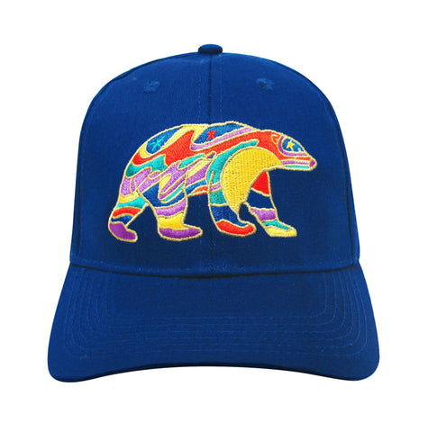 'Alpha Bear' Embroidered Baseball Cap - Oscardo