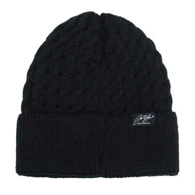 James Johnson Skull Embroidered Knitted Hat - Oscardo