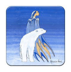 Maxine Noel 'Mother Winter' Hard Coaster