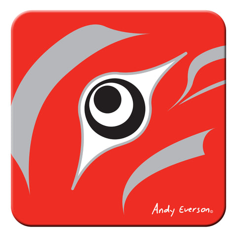 Andy Everson The Beginning Hard Coaster
