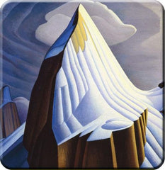 Lawren Harris Mount Lefroy Hard Coaster