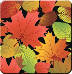 Fall Leaves Hard Coaster
