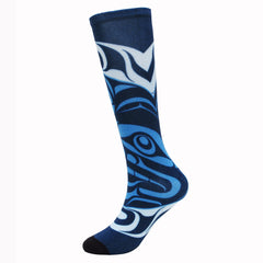 Andy Everson Confessions to the Moon Art Socks