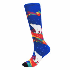 Dawn Oman Sky Watchers Art Socks