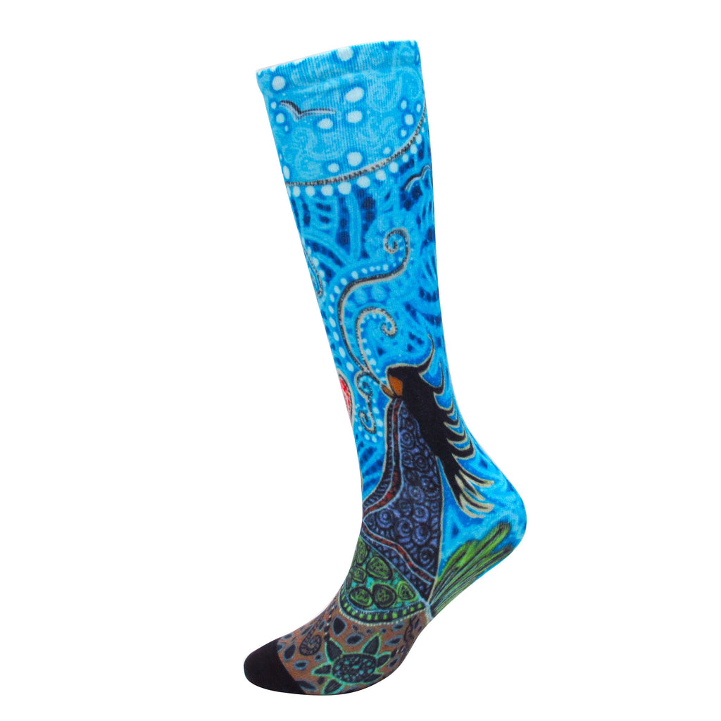 Leah Dorion Breath of Life Art Socks