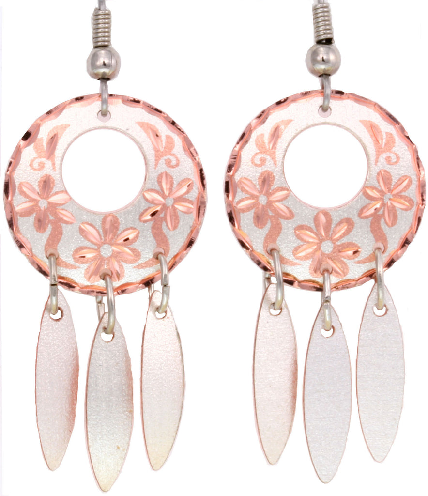 Floral K Series Earrings