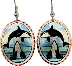 Whale Alaska Earrings