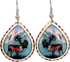 Moose Alaska Earrings