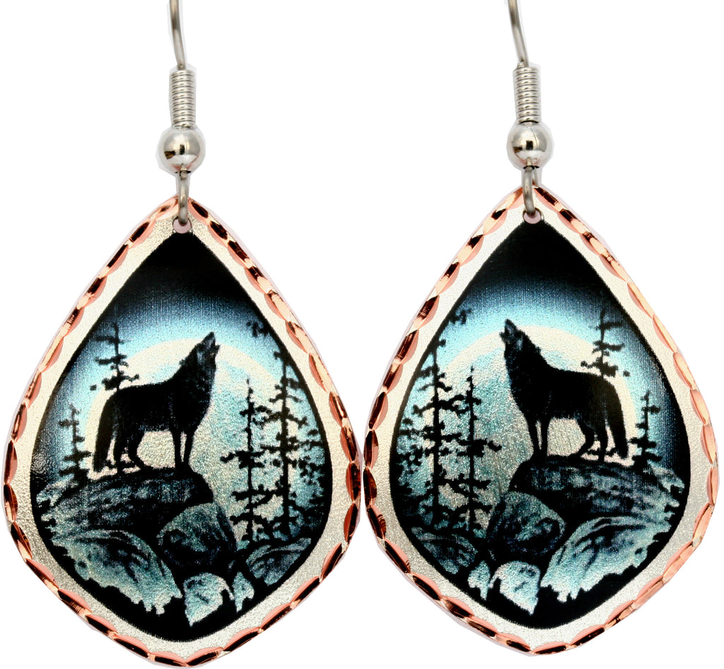 Wolf Alaska Earrings