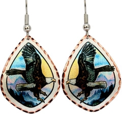 Eagle Alaska Earrings