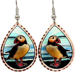 Puffin Alaska Earrings