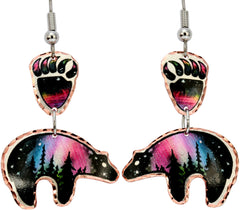 Bear Alaska Multiple Earrings