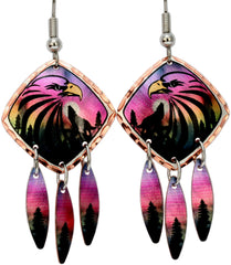 Eagle Alaska Multiple Earrings