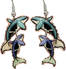 Whale Alaska Multiple Earrings