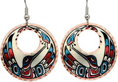 Native Hummingbird Alaska Native Earrings