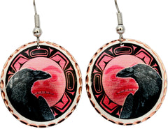 Eagle Alaska Native Earrings