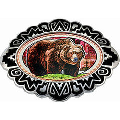 Bear Colourful Belt Buckle