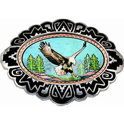 Eagle Colourful Belt Buckle