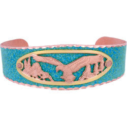 Eagle Blue Patina Bracelet