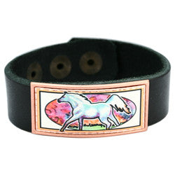 Horse Colourful Leather Bracelet