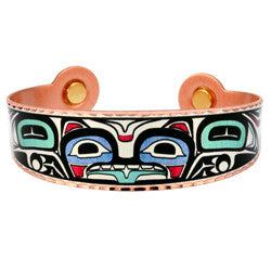 Native Bear Colourful Magnetic Bracelet