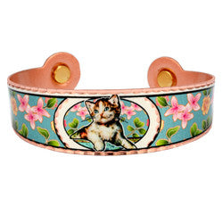 Cat Colourful Magnetic Bracelet
