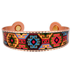 Native Design Colourful Magnetic Bracelet